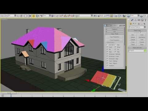 AvizStudioTools - ATiles Quick Tip - Roof Construction