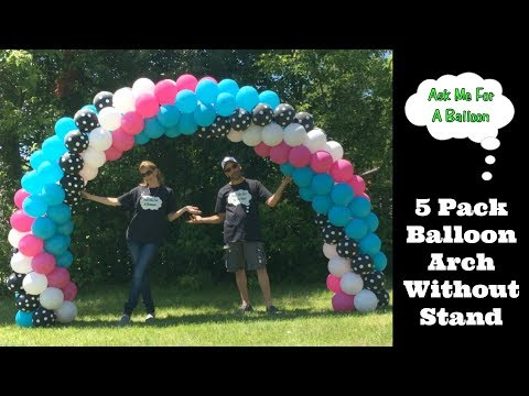 Thumbnail: 5 Pack Balloon Arch - Balloon Decoration Tutorial