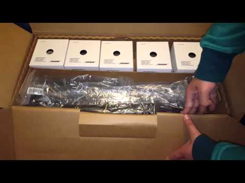 Bose Acoustimass 6 Home Theatre Series v Bundle Unboxing