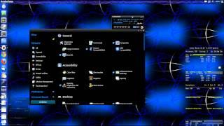 Ubuntu 12.10 : Audacious ... 3D Cube ... MyUnity ... ( german | deutsch )