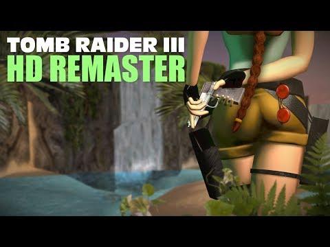 Tomb Raider 3 HD Remaster (Coastal Village Trailer)