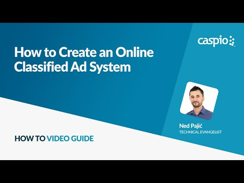 How To Create An Online Classified Ad System