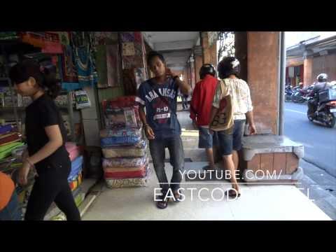 Denpasar old cloth market
