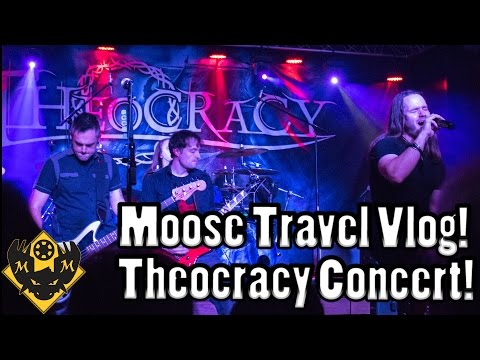 Moose Travel Vlog! Theocracy Concert at 120 Tavern and Music Hall!!