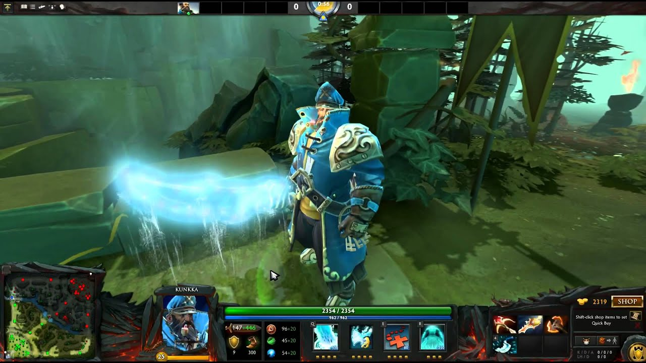 Dota 2 Kunka Armaments Of Leviathan Set YouTube