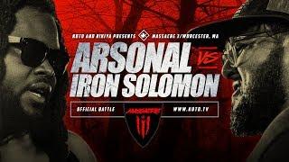 KOTD - Arsonal vs Iron Solomon | #MASS3
