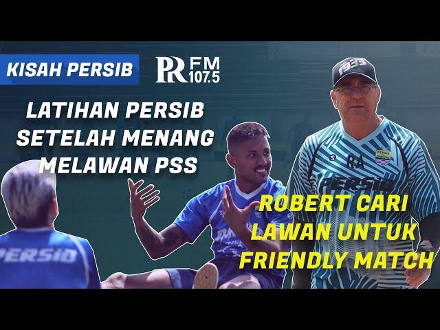 Aksi Pemain Persib Saat Kembali Berlatih, Coach Robert Cari Lawan Friendly Match