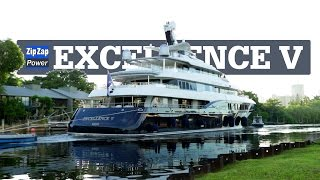 EXCELLENCE V Superyacht | Up the Miami River Backwards