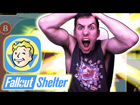 Fallout Shelter - 15 LUNCHBOX CARD OPENING! - SUPER RARE CARDS [Fallout Shelter Gameplay HD]