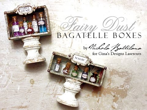 Fairy Dust Bagatelle Boxes