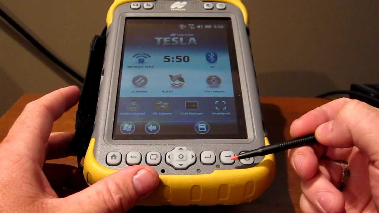 Toy Gps Data Logger : Topcon tesla tablet data collector review youtube
