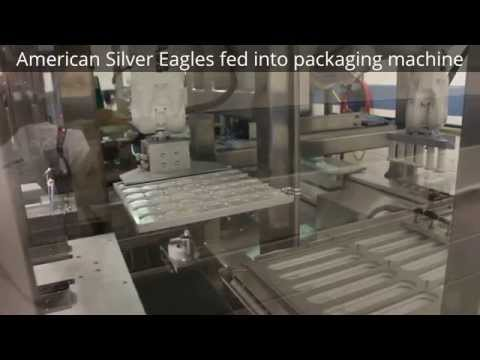 US Mint Packaging Machine for American Silver Eagles