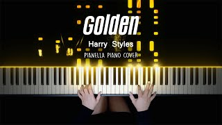 Harry Styles - Golden | Piano Cover by Pianella Piano видео