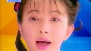 CM PC セガ テラドライブ 高橋由美子「二つの頭脳が同時に動く」