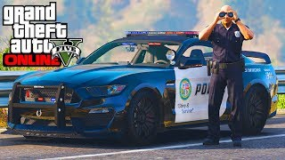 GTA 5 Online Beta Allowed Players To Play As A Cop! (GTA 5 Cut Features)