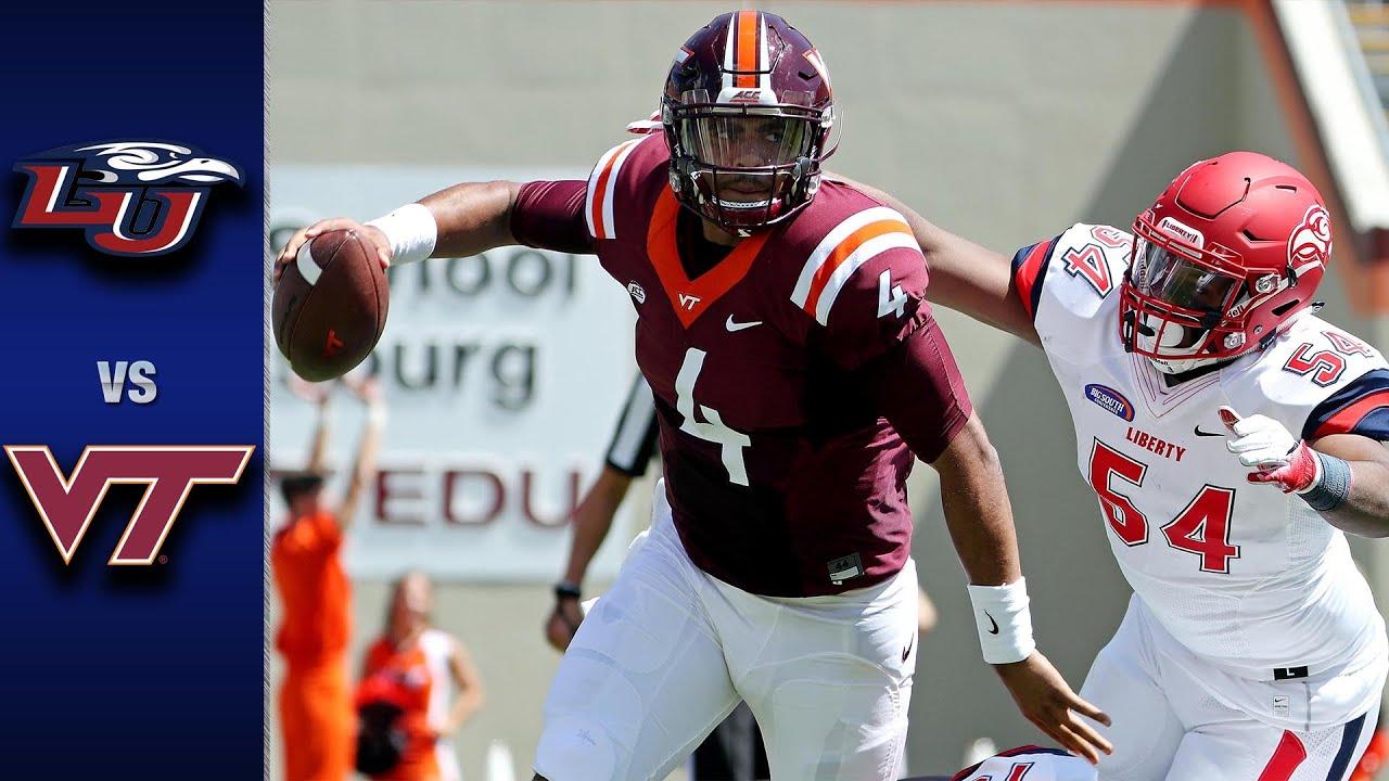 Virginia Tech Vs Liberty Football Highlights 2016