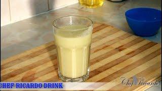 Cauliflower Drink Recipe  Healthy Drink Recipe Fro Chef Ricardo