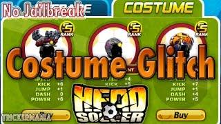 Costume Glitch | Head Soccer