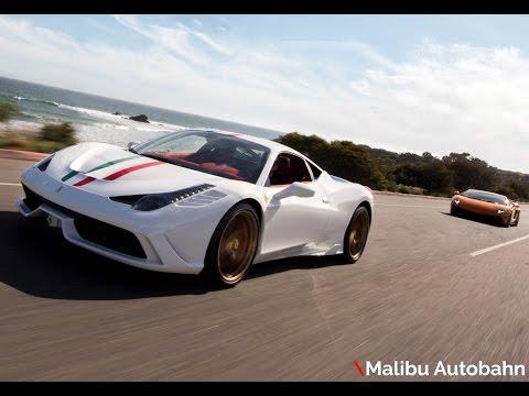 458 Speciale-Gallardo-Ghost \Malibu Autobahn