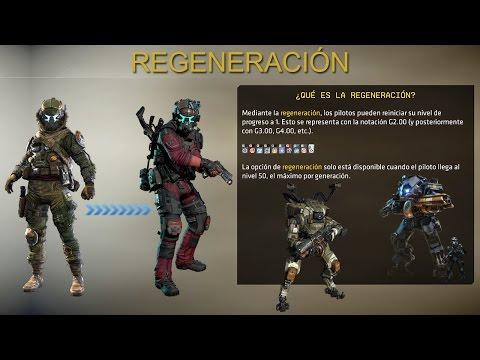 Titanfall 2: Cómo Regenerarse en Titanfall 2 | Regeneración | Segunda Generacíon | Nivel 50