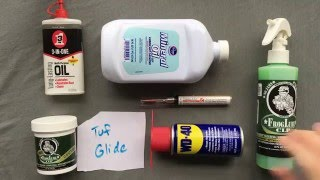 Pocketknife Lubrication (Nano-Oil, Froglube, 3-in-1, Tuf-Glide, and more!): The Nick Shabazz Guide