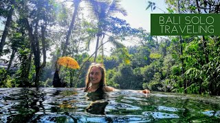 FULL BALI solo traveling DIARY - underwater challenge and surfing challenge included