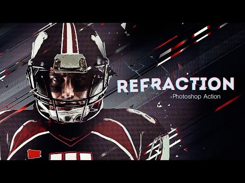 How To Use Refraction Photoshop Action