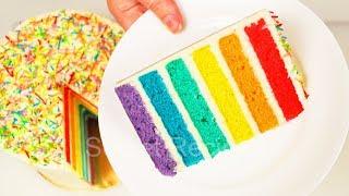 Радужный торт. Самый вкусный радужный торт | Rainbow cake