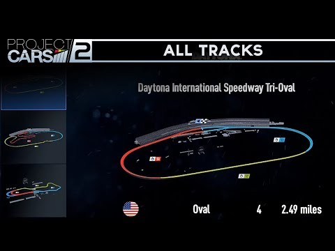 Project Cars 2 - All Tracks/Circuits/Map (Complete Track Lis