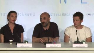 """Cannes: conférence de presse de """"Love"""", de Gaspar Noé"""