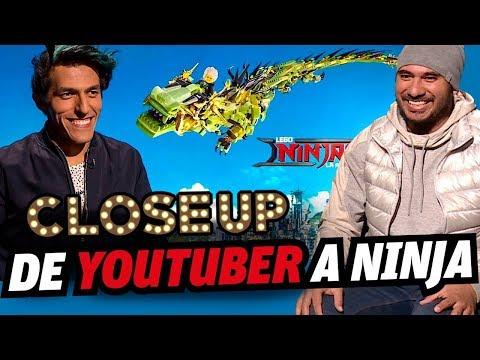 Rafa Polinesio en el doblaje de la nueva película de Lego: NINJAGO