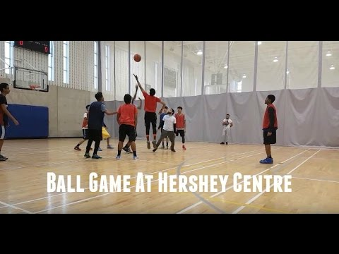 High School Basketball Game At Hershey Centre Mississauga
