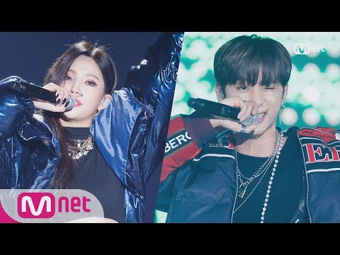 [2018 MAMA PREMIERE in KOREA] SOYEON((G)I-DLE)XSUNWOO(THE BOYZ)_Supermagic / Supreme Team 1812