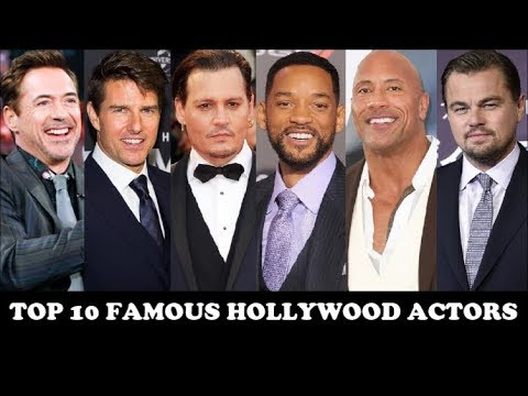 Top 10 Famous Hollywood Actors In The World | Loved | Popular | Most | Talented | Hansome | Sexy