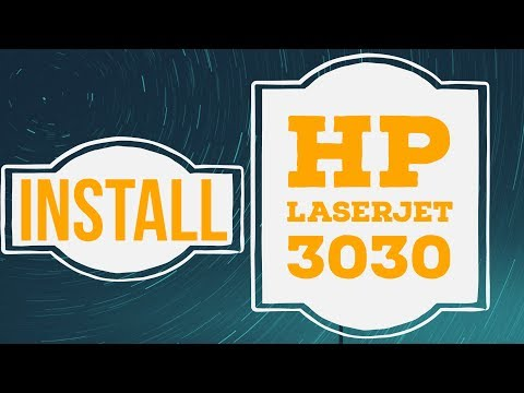 How To Install Hp Laserjet 3030 Printer Driver On Windows 7 And Windows 10 32 Bit And 64 Bit
