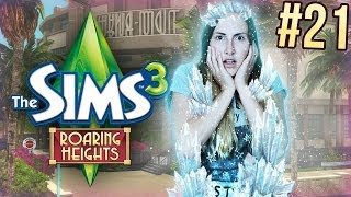EEN SIM IS BEVROREN!? - De Sims 3: Roaring Heights - Part 21