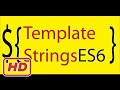 [Javascript Tutorial] javascript tagged template strings in ES6 (new string functions tutorial )