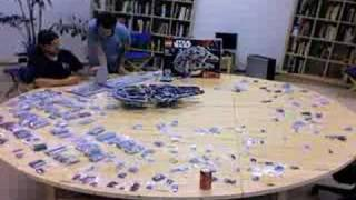 Time Lapse of LEGO Millennium Falcon 10179 Build