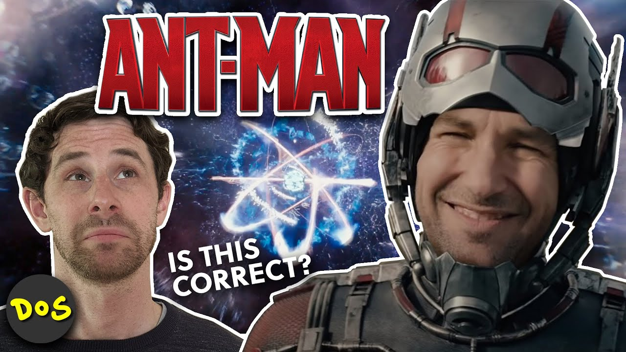 Quantum Physicist Dissects Ant-Man   Movie Physics #2