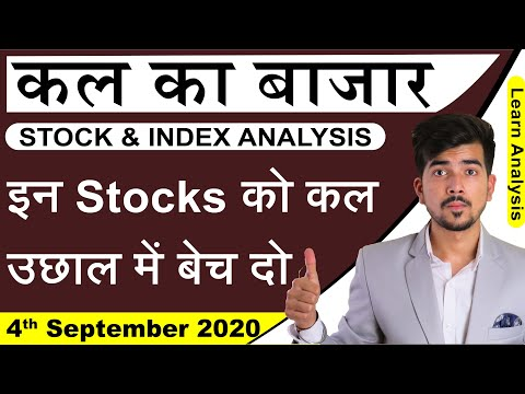 Best Intraday Trading Stocks for 4-September-2020 | Stock Analysis | Nifty Analysis | Share Market |