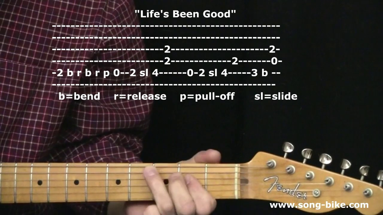 "life's been good"" by joe walsh : 365 riffs for beginning guitar"