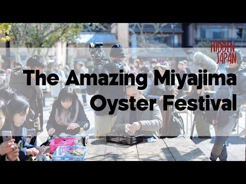 The Miyajima Oyster Festival and Itsukushima Shrine | Japan Video Travel Guide | Hidden Japan