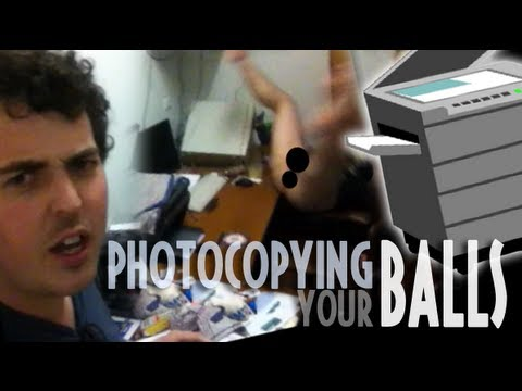 PHOTOCOPYING YOUR BALLS (Max and Sam December Update)