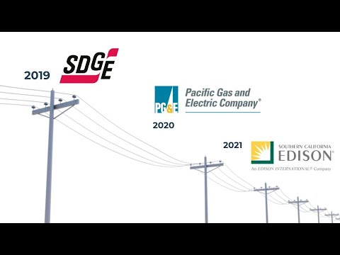 Time Of Use Rates - SDGE, PGE, SCE - California Investor Owned Utilities - #47