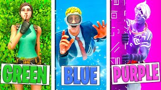 Using ONLY ONE COLOR in Fortnite Season 6! (Fortnite Prop Hunt)