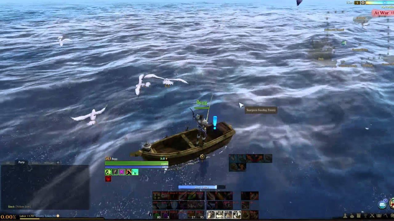 Archeage saltwater sport fishing youtube for Saltwater fishing video