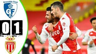 Монако Гренобль 1 0 Обзор Матча 1 32 Финала Кубок Франции 10 02 2021 HD