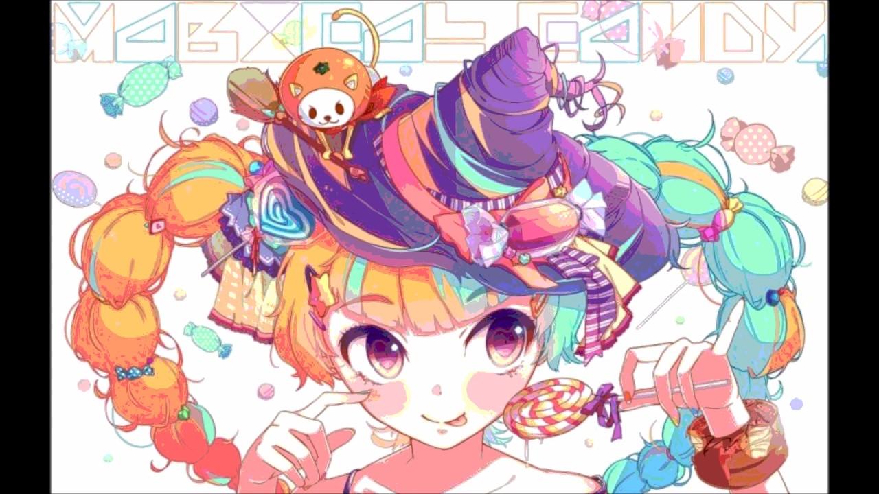 Anime Girl Chibi Wallpaper Oishii Oishii Nightcore Youtube