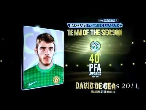 PFA Awards Premier League Team Of The Year 2013