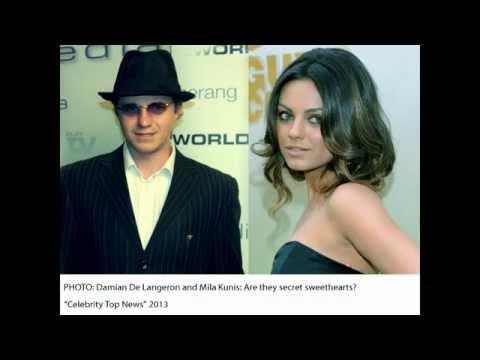 Damian De Langeron and Mila Kunis Are they secret sweethearts